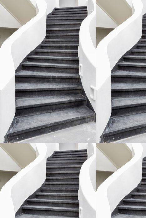 Tapeta Pixerstick Černé schody - Témata