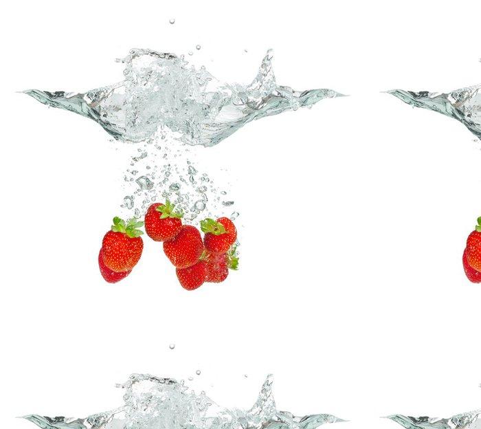 Tapeta Pixerstick Čerstvé jahody - Témata