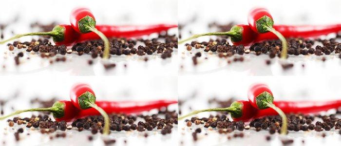 Tapeta Pixerstick Červená chilli papričkou - iStaging