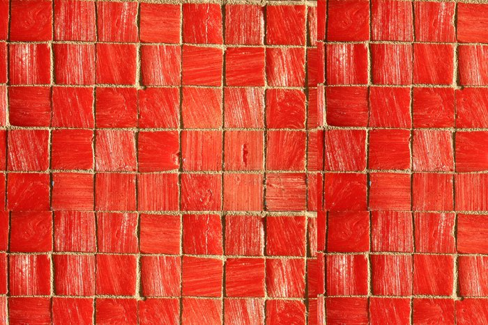 Tapeta Pixerstick Červené dlaždice na pozadí - Náboženství