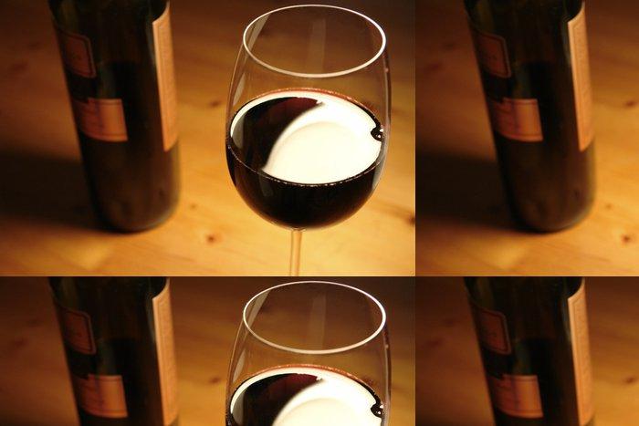 Tapeta Pixerstick Červené víno - Témata