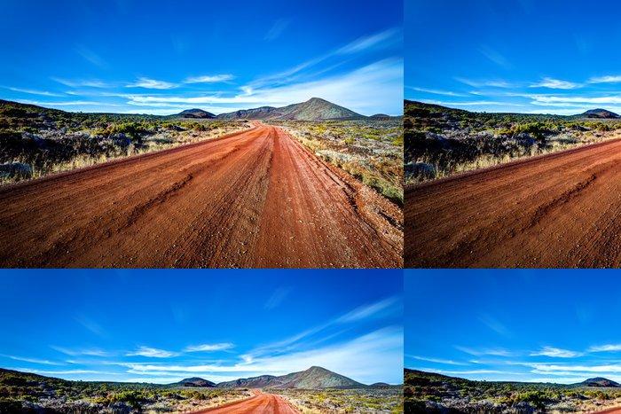 Tapeta Pixerstick Cesta k sopce, Reunion Island - Prázdniny