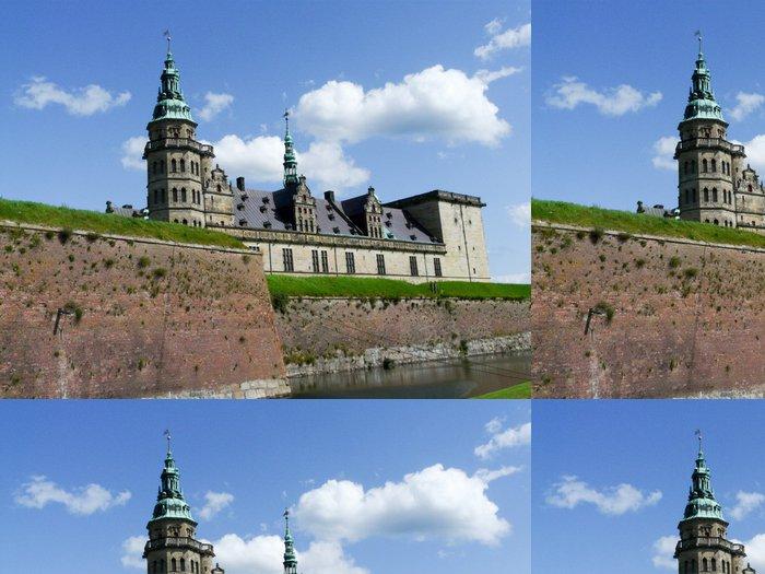 Tapeta Pixerstick Château d'Elsingor, Dánsko - Památky