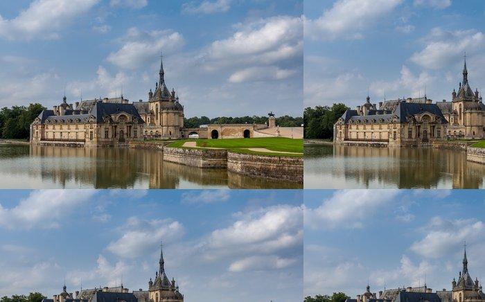 Tapeta Pixerstick Château de Chantilly. - Evropská města