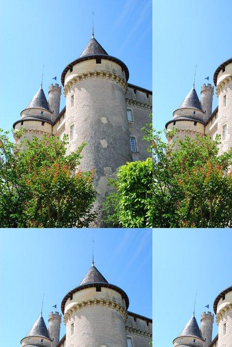 Vinylová Tapeta Château de Mercues - Památky