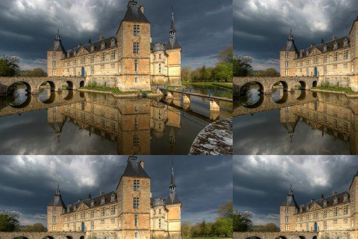 Tapeta Pixerstick Chateau de Sully 01, Burgundsko, Francie - Témata