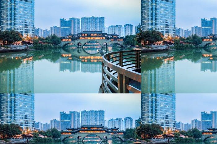 Tapeta Pixerstick Chengdu scenérie - Památky