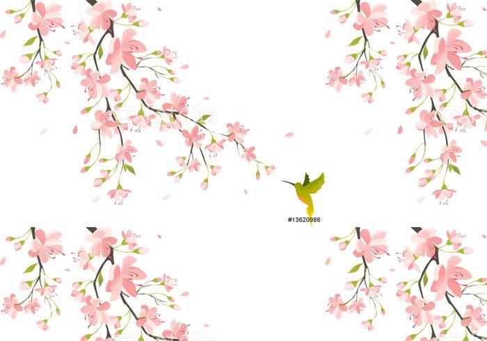 Tapeta Pixerstick Cherry blossom - Styly