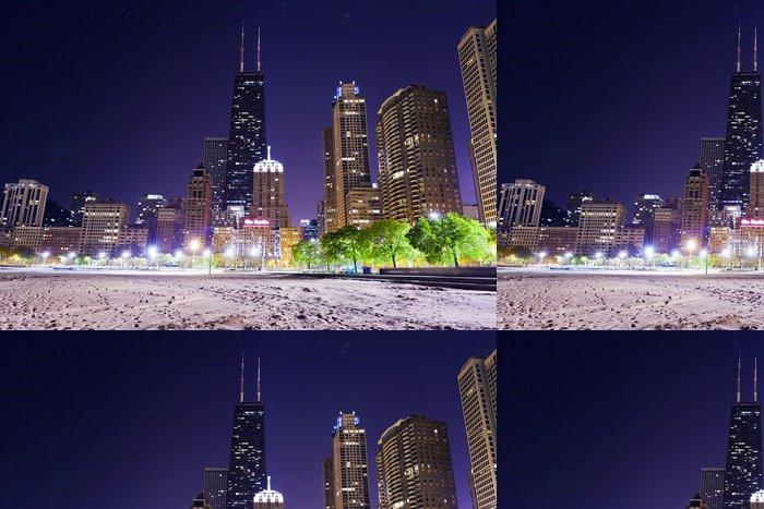 Vinylová Tapeta Chicago Lake Shore Drive - Prvky podnikání