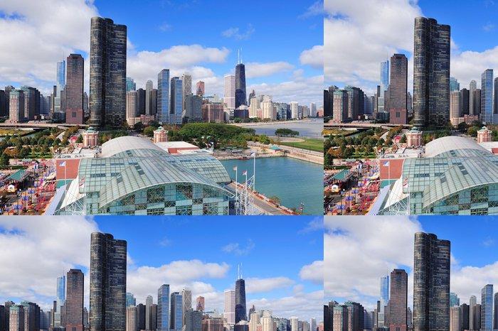 Vinylová Tapeta Chicago velkoměsto centra - Amerika