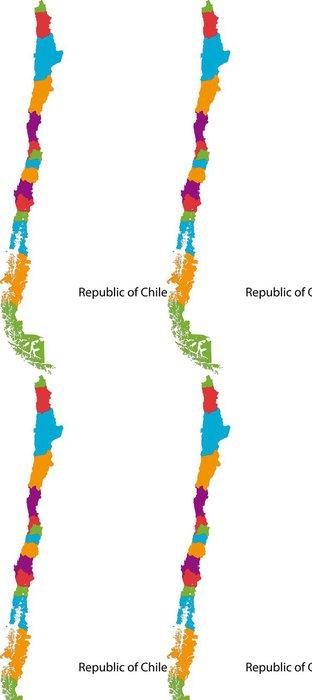 Tapeta Pixerstick Chilská republika - Doplňky a věci