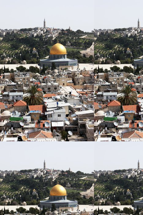 Tapeta Pixerstick Chrámová hora, Jeruzalém - Střední Východ