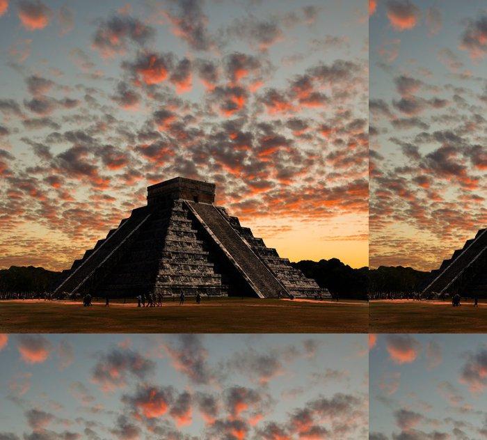 Tapeta Pixerstick Chrámy Chichén Itzá chrámu v Mexiku - Amerika