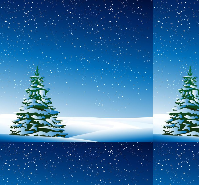 Vinylová Tapeta Christmas background - Evropa