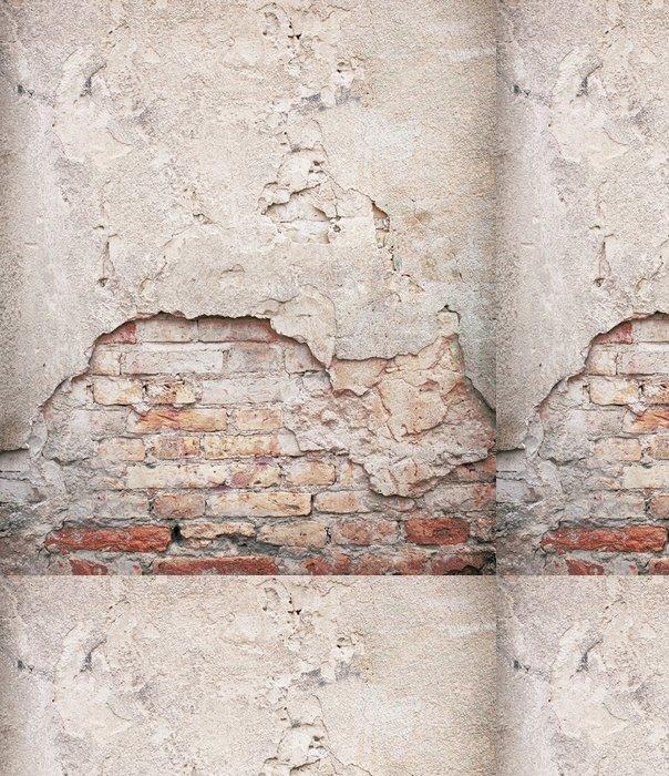 Tapeta Pixerstick Cihla, beton zvětralý grunge wall background - Témata