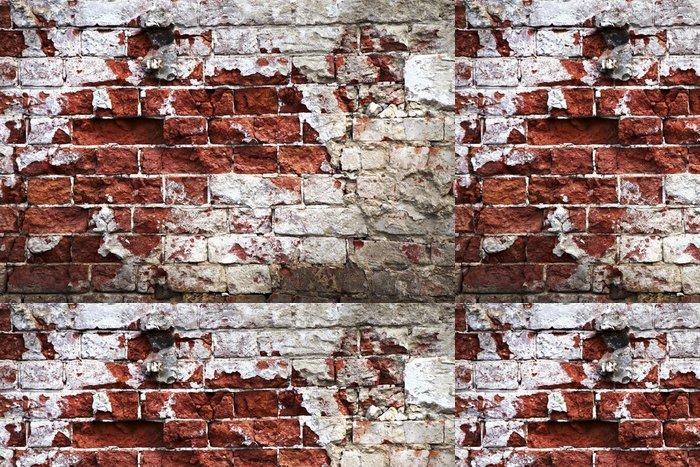 Tapeta Pixerstick Cihlová zeď - Témata