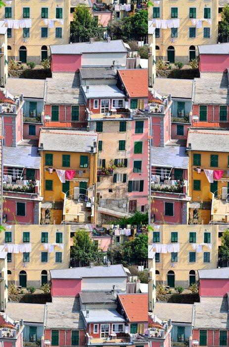 Tapeta Pixerstick Cinque Terre, Itálie - Riomaggiore barevné rybáři vesnice. - Evropa