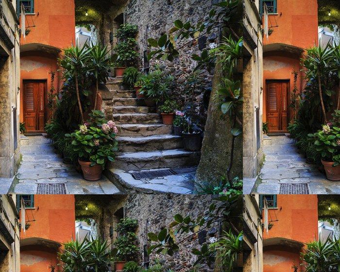 Tapeta Pixerstick Cinque Terre, Vernazza - Itálie - Evropa