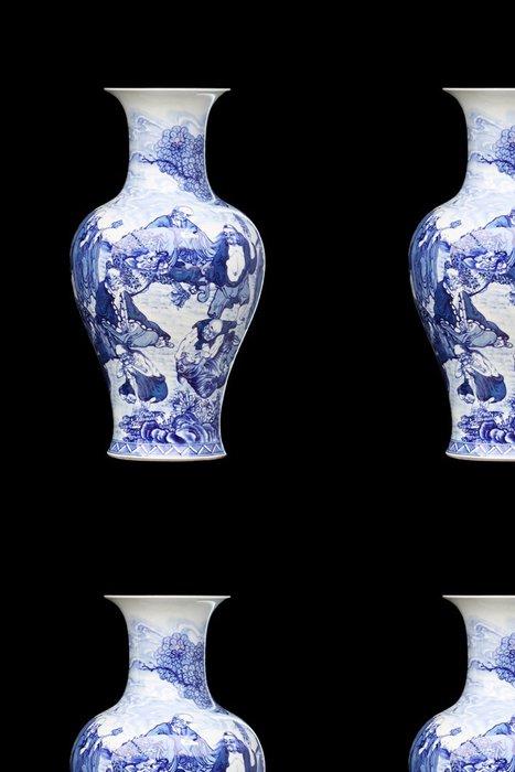 Tapeta Pixerstick Čínský váza - Doplňky