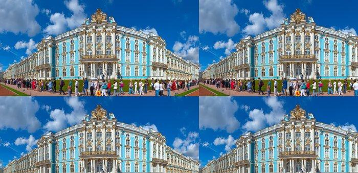 Vinylová Tapeta Císařský palác na Catherine Carskoje Selo - Veřejné budovy