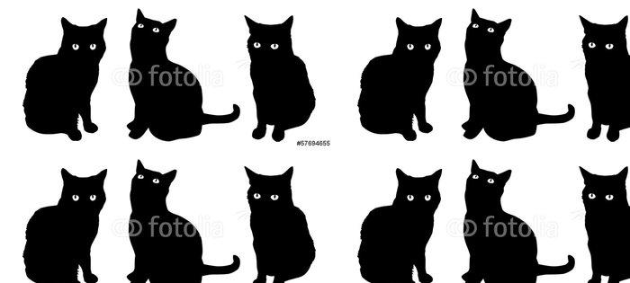 Tapeta Pixerstick Čísla Cat - Savci
