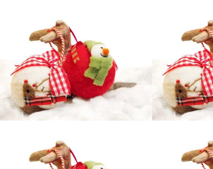 Tapeta Pixerstick Cítil vánoční ozdoby - Mezinárodní svátky