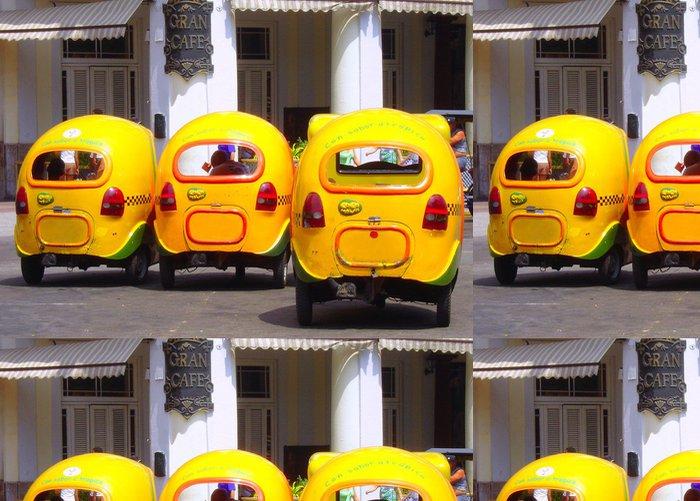 Vinylová Tapeta Coco taxi - Amerika