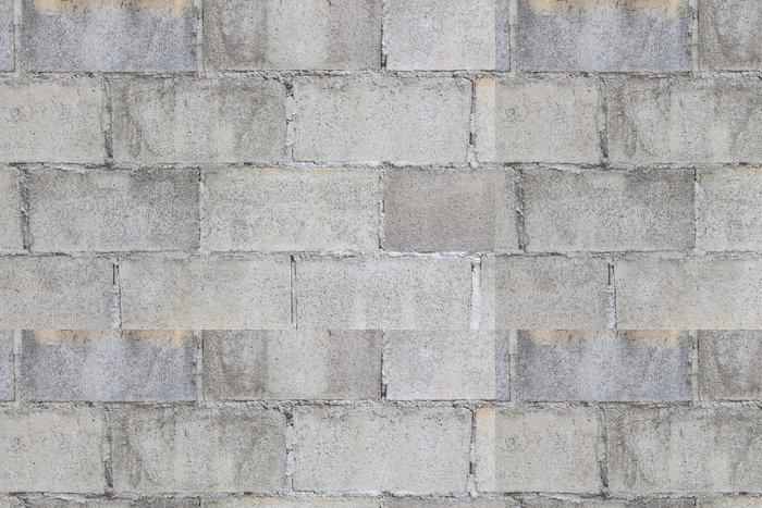 Vinylová Tapeta Concrete Block Wall Texture - Styly