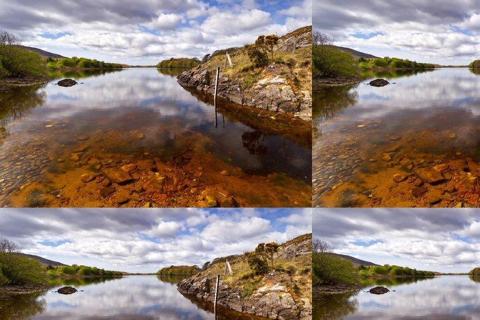 Vinylová Tapeta Connemara hory a jezero scenérie, Irsko - Evropa