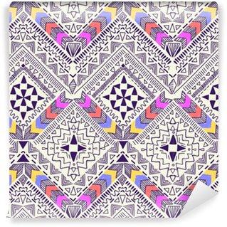 Vinylová Tapeta Cool kmenový geometrický vzhled ~ bezproblémové pozadí