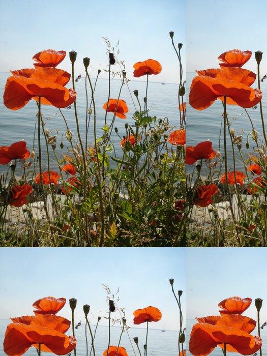 Tapeta Pixerstick Coquelicot pro Amsterodam - Květiny