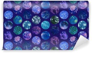 Tapeta Pixerstick Cosmic Paper Marble tapety bezešvé vzor