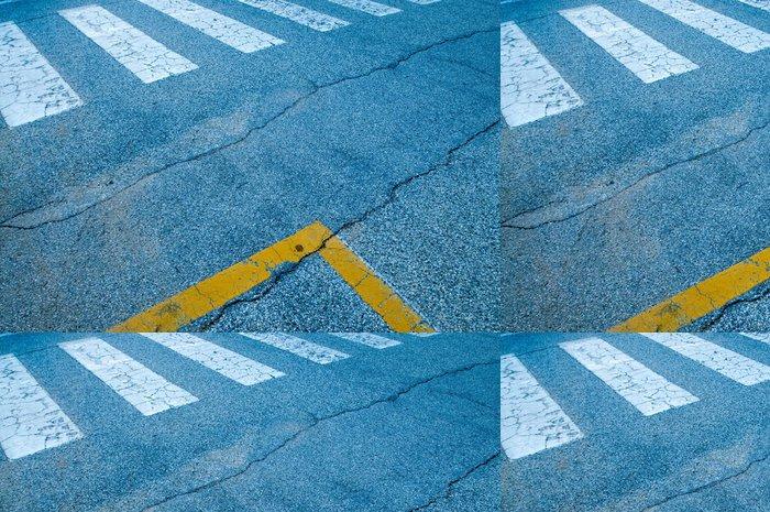 Vinylová Tapeta Crosswalks - Město