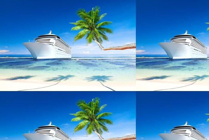 Tapeta Pixerstick Cruise ship - Lodě