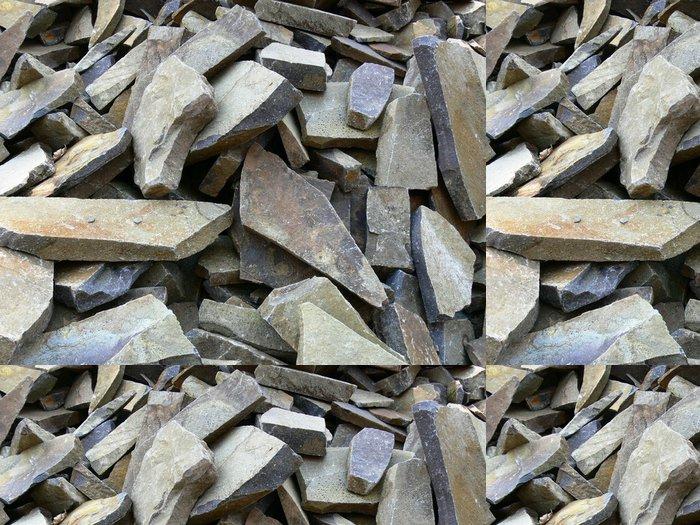 Tapeta Pixerstick Crushed stone - Těžký průmysl