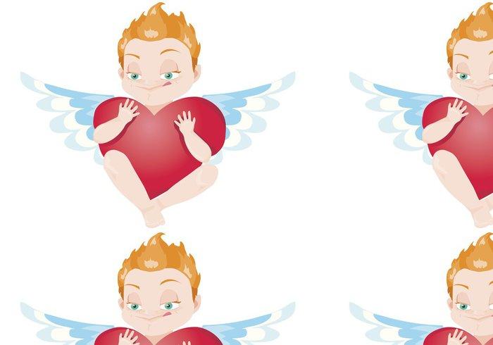 Tapeta Pixerstick Cupid - Mezinárodní svátky