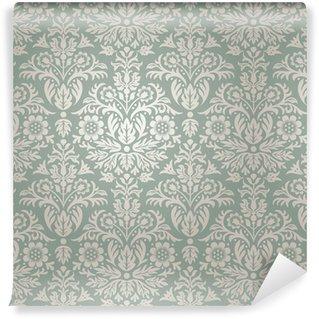 Vinylová Tapeta Damašek bezešvé květinový vzor na pozadí