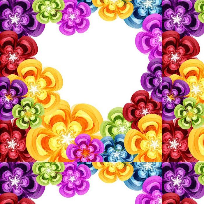 Tapeta Pixerstick Dárkový květinový vzor na pozadí. - Pozadí