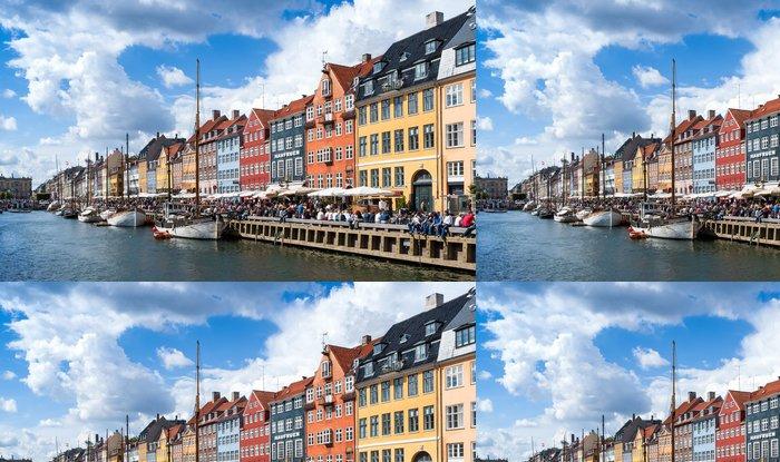 Vinylová Tapeta Davy na Nyhavn, Kodaň, Dánsko - Evropa