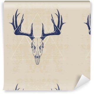 Vinylová Tapeta deer skull