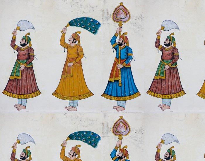 Tapeta Pixerstick Dekorace Iside indický chrám - Asie