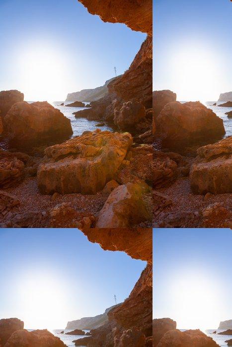 Tapeta Pixerstick Denia Las Rotas z jeskyní a Středozemním moři - Evropa