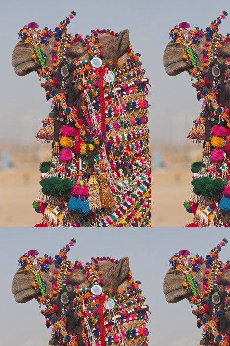 Tapeta Pixerstick Desert Festival v Jaisalmer, Rajasthan, Indie - Asie