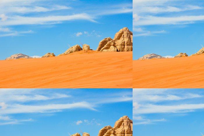 Tapeta Pixerstick Desierto de Wadi Rum, Jordánsko - Asie