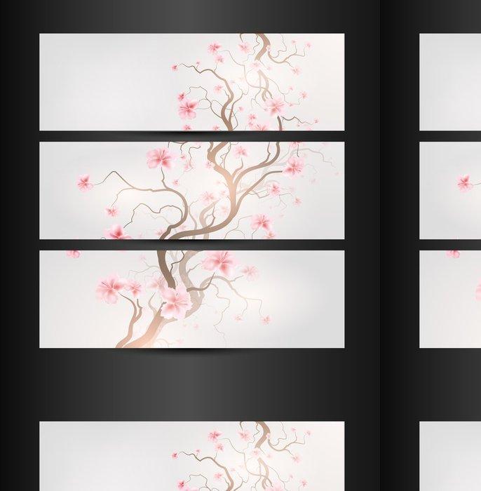 Tapeta Pixerstick Design Sakura - Pozadí