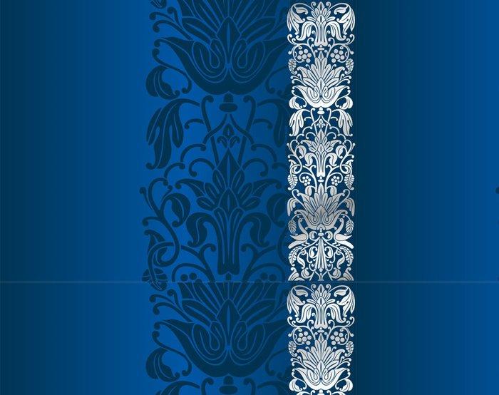 Tapeta Pixerstick Design svatební oznámení, paisley květinovým vzorem, Indie - Styly