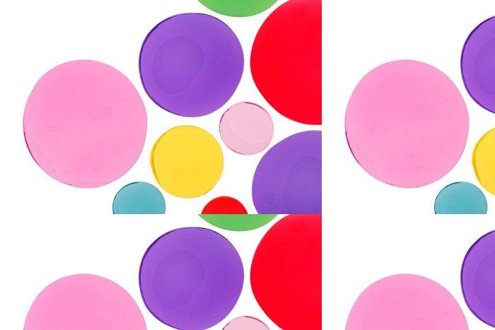 Tapeta Pixerstick Designové prvky kruhového tvaru - Abstraktní