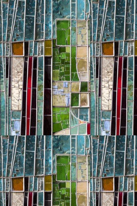 Tapeta Pixerstick Detail barevné okna. Dobrý obraz má být použit jako pozadí - Umění a tvorba