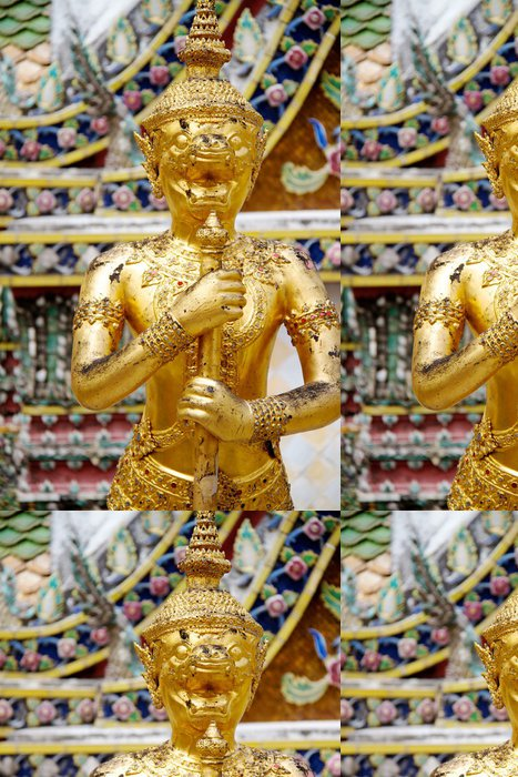 Vinylová Tapeta Detail Grand Palace v Bangkoku v Thajsku - Asie