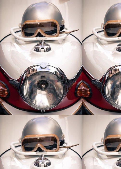 Tapeta Pixerstick Detail veteránského motorce - Témata